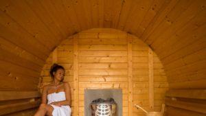 Campingplatz Lassan Sauna