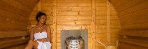 Camping Lassan Sauna